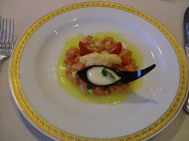 下田東急ホテルの夕食ディナー 前菜