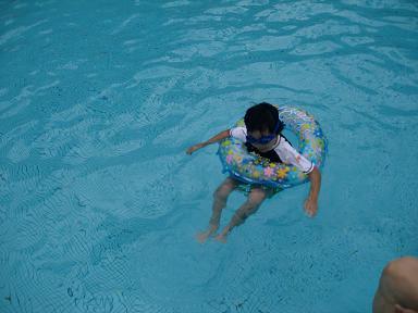 下田東急ホテルの大きい方のプール