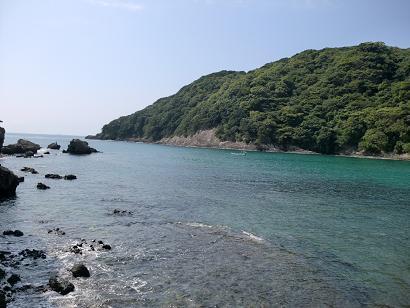 お天気が良い日の鍋田浜海水浴場はとてもキレイです♪