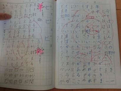 極める国語での漢字の勉強方法 ... : 小学生 漢字ノート : 小学生