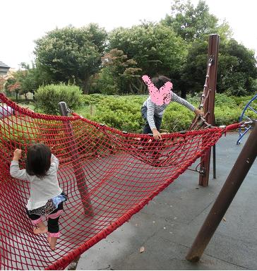武蔵野中央公園の遊具